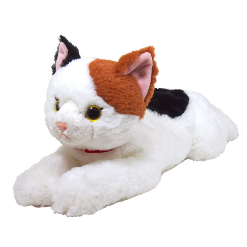 Sunlemon Plush Doll Hiza Neko Calico Cat Size M