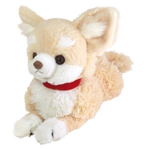 Sunlemon Plush Doll Hiza Wanko Chihuahua Cream