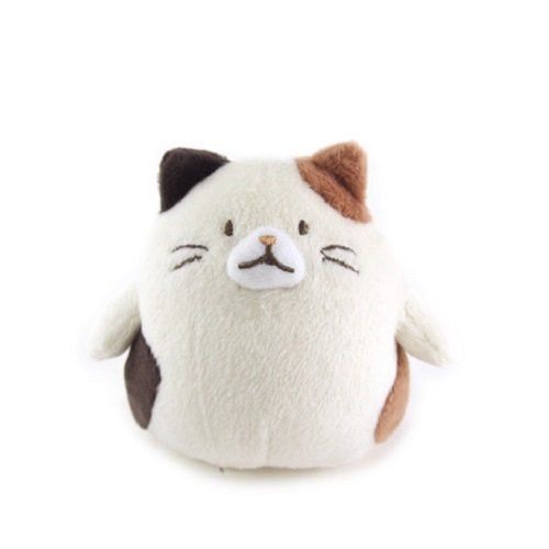 Sunlemon Plush Doll Hug Hug Motchiri Mini Series Calico Cat