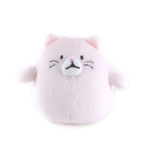 Sunlemon Plush Doll Hug Hug Motchiri Mini Series Cat Pink