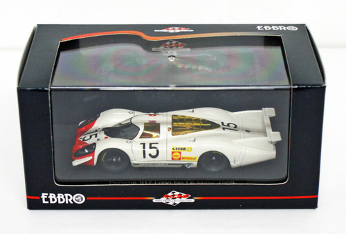 Ebbro 43751 Porsche 917 Le Mans 1969 No.15 (White) 1/43 Scale