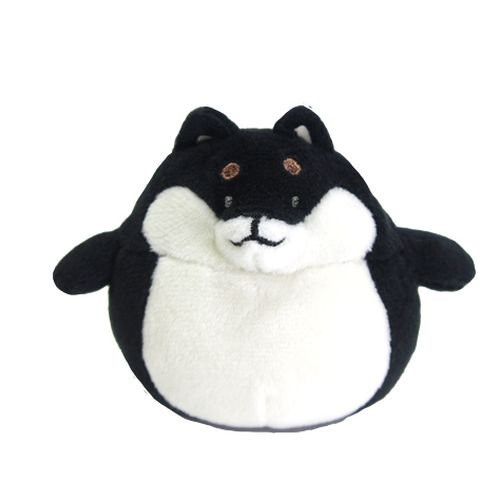 Sunlemon Plush Doll Hug Hug Motchiri Mini Series Black Shiba Inu