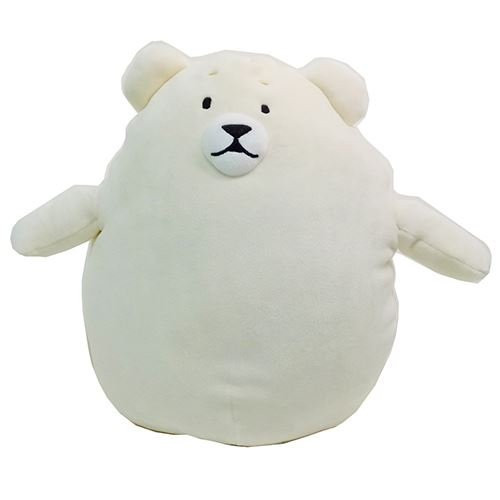 Sunlemon Plush Doll Hug Hug Motchiri Pillow (Cushion) Series Polar Bear