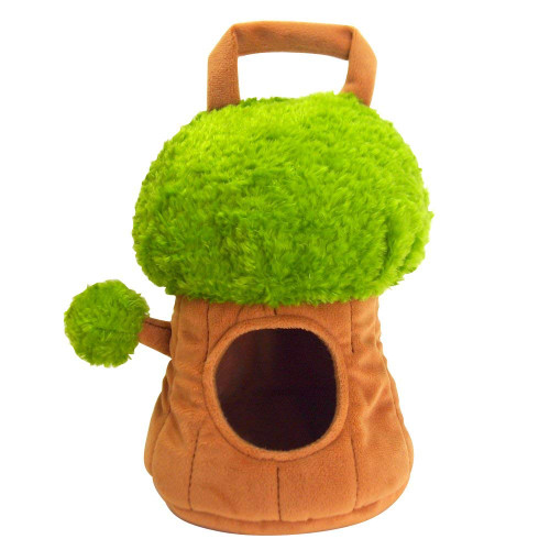 Sunlemon Plush Doll Plush House Bag Tree House