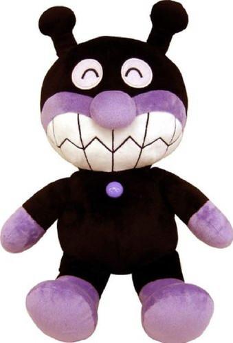 Sega Toys Plush Doll Fuwarin Smile Baikinman Size M