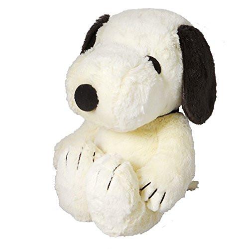 Nakajima Corporation Plush Doll Hug Hug Snoopy M Mocha