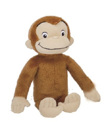 Sun Arrow Plush Doll NHK TV Monkey George Size S