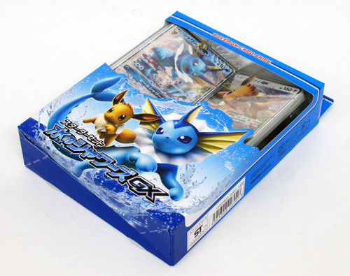 Pokemon Card Game Sun & Moon Starter Set Water Vaporeon GX 1 BOX