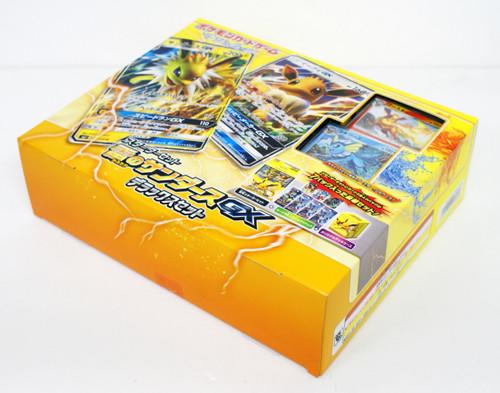 Pokemon Card Game Sun & Moon Starter Set Thunder 'Jolteon GX Eevee GX Premium Edition' 1 BOX