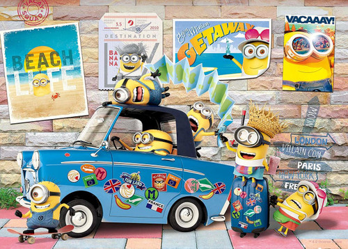 Epoch Jigsaw Puzzle 06-098s Despicable Me Minions Vacation (500 Pieces)