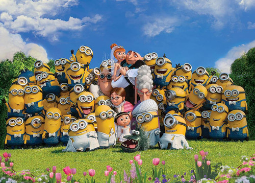 Epoch Jigsaw Puzzle 06-095s Despicable Me Minions Wedding (500 Pieces)