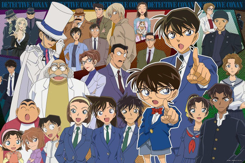 Epoch Jigsaw Puzzle 11-579s Case Closed Detective Conan All Stars (1000 Pieces)