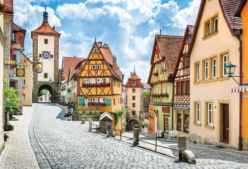 Epoch Jigsaw Puzzle 31-009 Rothenburg Germany (1053 S-Pieces)