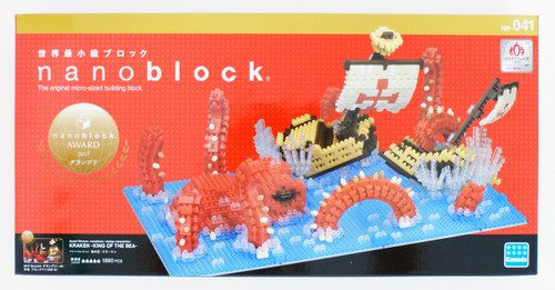 Kawada NB-041 nanoblock Kraken -King of the Sea-