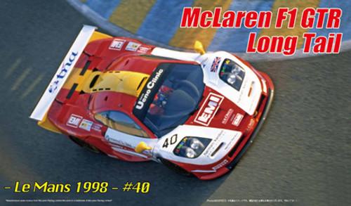 Fujimi RS-250 McLaren F1 GTR Long Tail Le Mans 1998 #40 DX 1/24 scale kit