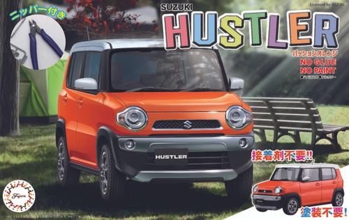 Fujimi 066103 Suzuki Hustler (Passion Orange) Special ver. w/ Nipper 1/24 Scale kit