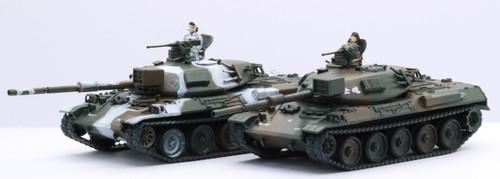 Fujimi SWA2 JGSDF Type 74 (2 Set) 1/76 scale kit