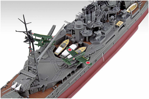 Aoshima Ironclad 54055 Heavy Cruiser Atago Retake 1/350 scale kit