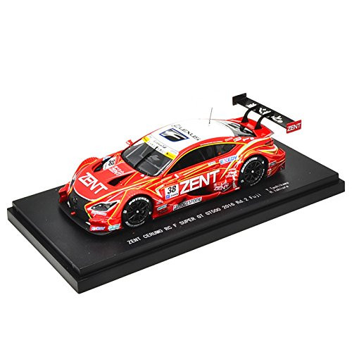 Ebbro 45456 ZENT CERUMO RC F Super GT GT500 2016 Rd.2 Fuji No.38 Red 1/43 scale