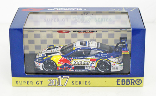 Ebbro 45520 KeePer TOM'S LC500 Super GT GT500 2017 No.37 1/43 scale