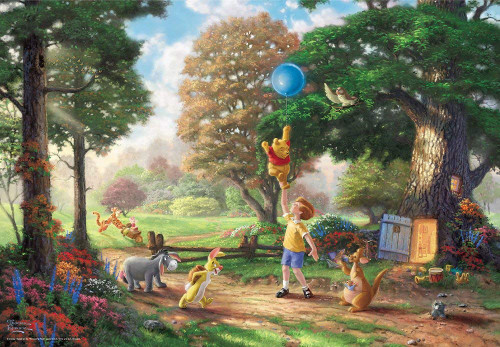 Tenyo Japan Jigsaw Puzzle D-1000-030 Disney Winnie The Pooh II Special Art Collection (1000 Pieces)