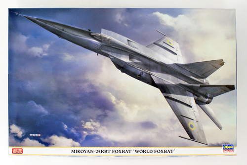Hasegawa 07471 MiG-25RBT Foxbat 'World Foxbat' 1/48 scale kit