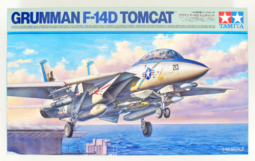 Tamiya 61118 Grumman F-14D Tomcat 1/48 Scale Kit