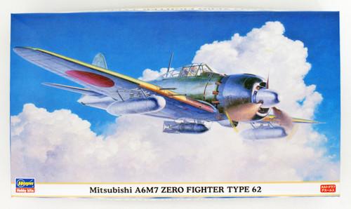 Hasegawa 09813 Mitsubishi A6M7 Zero Fighter Type 62 1/48 Scale kit