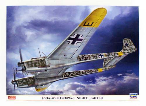 Hasegawa 02286 Focke-Wulf Fw198A-1 'Night Fighter' 1/72 Scale kit