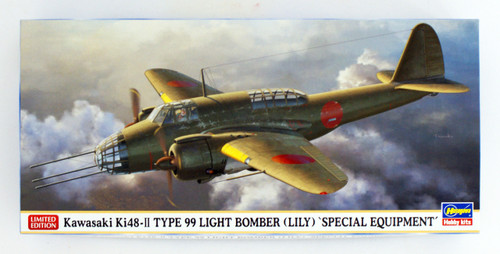 Hasegawa 02287 IJA Kawasaki Ki-48 II Type 99 Twin Engined Light Bomber 'Special Equipment Ver.' 1/72 scale kit