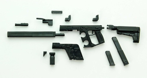 Tomytec LA035 Military Series Little Armory KRISS Vector CRB 1/12 Scale Plastic Model Kit