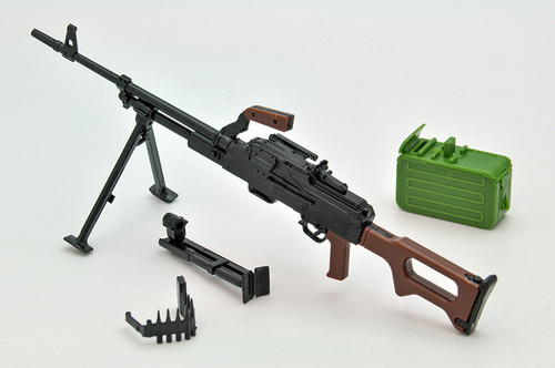 Tomytec LA043 Military Series Little Armory PKM Type 1/12 Scale Plastic Model Kit