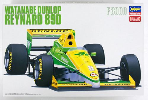 Hasegawa 20370 Watanabe Dunlop Reynard 89D 1/24 Scale kit