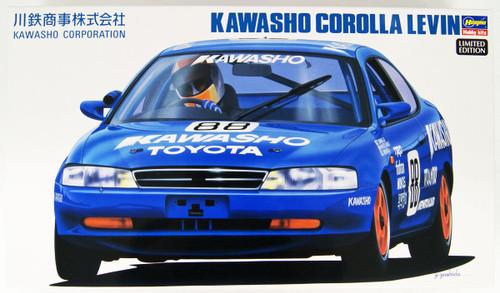 Hasegawa 20367 Kawasho Corolla Levin 1/24 scale kit