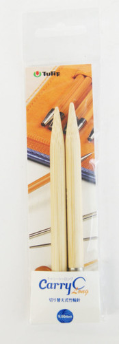Tulip CCJA-47 Carry C Long Bamboo Knitting Needle 9.00mm