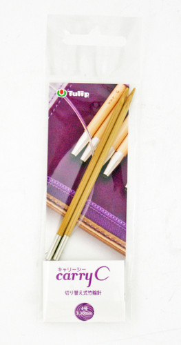 Tulip CCJA-50 Carry C Bamboo Knitting Needle 3.30mm (No. 4)