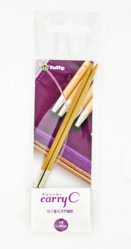 Tulip CCJA-50 Carry C Bamboo Knitting Needle 3.30mm (No. 4)