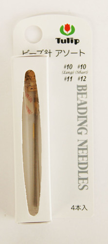Tulip TBN-013 Beading Needles Assorted 4 pcs