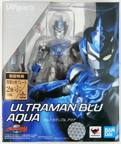 Bandai S.H. Figuarts Ultraman R/B Ultraman Blu Aqua Figure