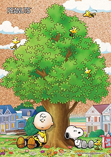 Beverly Jigsaw Puzzle 88-032 Cork Peanuts Snoopy With My Friends (88 L-Pieces)