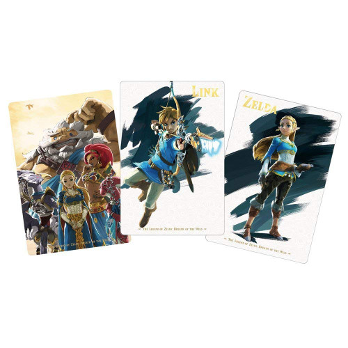 Bandai Candy 290261The Legend of Zelda: Breath of the Wild Card Candy 1 BOX 20Pcs. Set