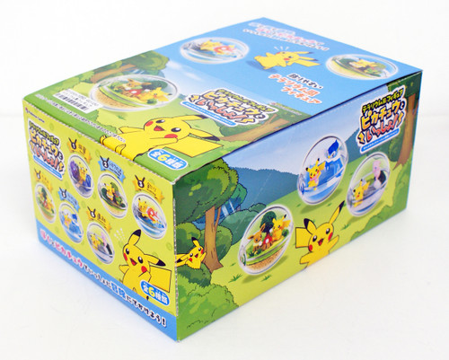Pokemon Center Original Terrarium Figure Pikachu to Issho! 1 BOX 6 Figures Complete Set