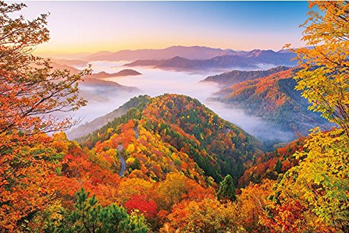 APPLEONE Jigsaw Puzzle 1000-826 Onyu Valley Sea of Clouds Shiga Japan (1000 Pieces)
