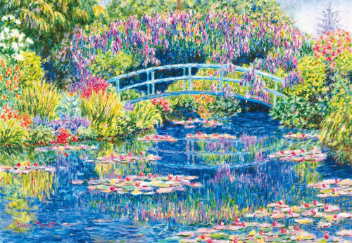 Epoch Jigsaw Puzzle 31-509 Art Diane Monet Afternoon Moments (1053 S-Pieces)