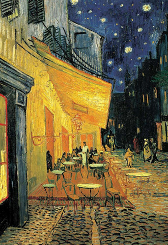 Epoch Jigsaw Puzzle 31-012 Art Vincent van Gogh Cafe Terrace at Night (1053 S-Pieces)