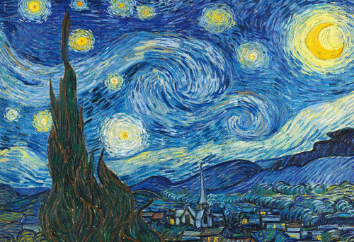 Epoch Jigsaw Puzzle 31-011 Art Vincent van Gogh The Starry Night (1053 S-Pieces)