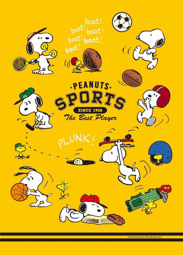 Epoch Jigsaw Puzzle 03-049 Peanuts Snoopy Sports (108 Pieces)