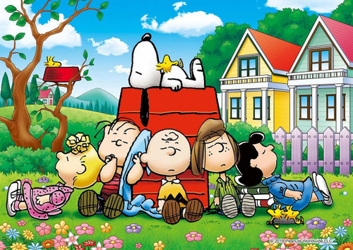 Epoch Jigsaw Puzzle 03-048 Peanuts Snoopy Nap Time (108 Pieces)