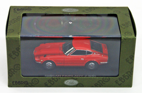 Ebbro 44002 NISSAN FAIRLADY Z S30 Red 1/43 Scale