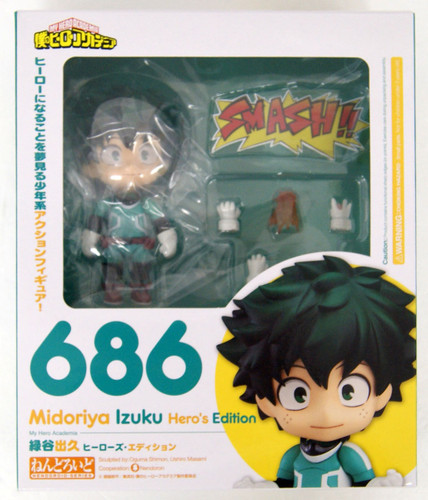 Good Smile Nendoroid 686 Izuku Midoriya: Hero's Edition (My Hero Academia)
